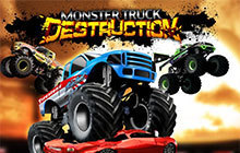 Monster Truck Destruction Badge
