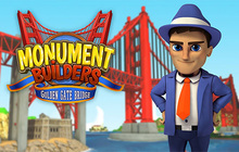 Monument Builders: Golden Gate Bridge Badge