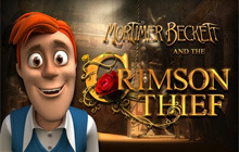 Mortimer Beckett and the Crimson Thief Premium Edition Badge