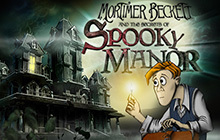 Mortimer Beckett and the Secrets of Spooky Manor Badge