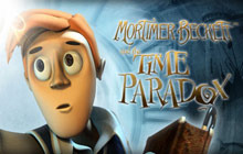 Mortimer Beckett and the Time Paradox Badge