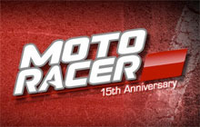 Moto Racer 15th Anniversary Badge