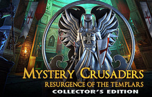Mystery Crusaders: Resurgence of the Templars Collector's Edition Badge