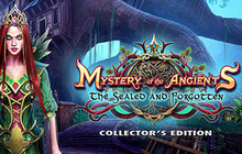 Mystery of the Ancients: The Sealed and Forgotten Collector's Edition Badge