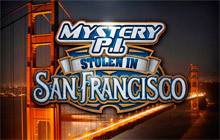 Mystery P.I. - Stolen in San Francisco Badge