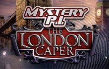 Mystery P.I. - The London Caper Badge
