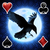 Mystery Solitaire The Black Raven Icon