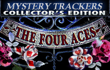 Mystery Trackers: Four Aces Collector's Edition Badge