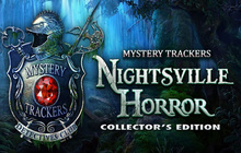 Mystery Trackers: Nightsville Horror Collector's Edition Badge