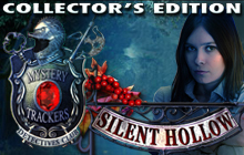 Mystery Trackers: Silent Hollow Collector's Edition Badge