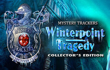Mystery Trackers: Winterpoint Tragedy Collector's Edition Badge