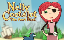 Nelly Cootalot: The Fowl Fleet Badge
