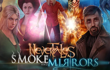 Nevertales: Smoke and Mirrors Badge