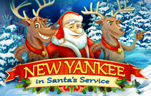 New Yankee in Santa's Service Badge