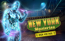 New York Mysteries: High Voltage Collector's Edition Badge