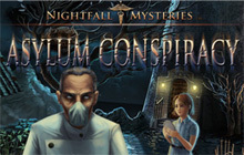 Nightfall Mysteries - Asylum Conspiracy Badge