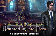 Nightfall Mysteries: Haunted by the Past Collector's Edition Badge
