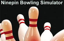 Ninepin Bowling Simulation Badge