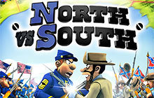 North vs South Badge