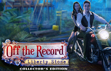 Off the Record: Liberty Stone Collector's Edition Badge