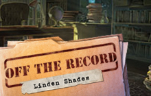 Off the Record: Linden Shades Badge