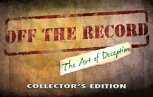 Off the Record: The Art of Deception Collector's Edition Badge