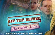 Off the Record: The Italian Affair Collector's Edition Badge