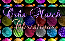 Orbs Match Christmas Badge
