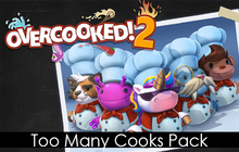 Overcooked! 2 - Too Many Cooks Pack Badge