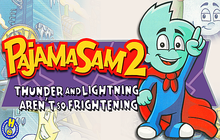 Pajama Sam 2: Thunder and Lightning Aren't So Frightening Badge