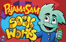 Pajama Sam's Sock Works Badge