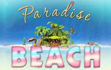 Paradise Beach Badge