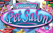 Paradise Pet Salon Badge