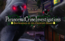 Paranormal Crime Investigations: Brotherhood of the Crescent Snake CE Badge