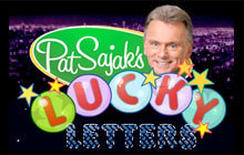 Pat Sajak's Lucky Letters Badge