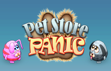 Pet Store Panic Badge