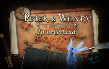 Peter & Wendy in Neverland Badge