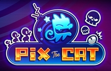 Pix the Cat Badge