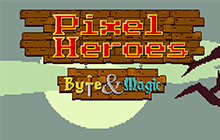 Pixel Heroes - Byte & Magic Badge