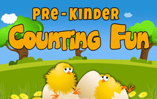 Pre Kinder Counting Fun Badge