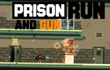 Prison Run and Gun Badge