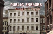 Public Enemies: Bonnie & Clyde Badge