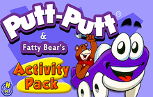 Putt-Putt® & Fatty Bear Activity Pack Badge