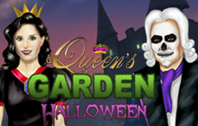Queen's Garden Halloween Badge