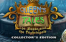 Queen's Tales: The Beast and the Nightingale Collector's Edition Badge