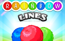 Rainbow Lines Badge