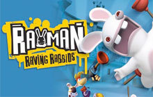 Rayman Raving Rabbids Badge