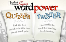 Reader's Digest Super Word Power Badge