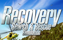 Recovery Search and Rescue Simulation Badge