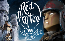 Red Barton and the Sky Pirates Badge